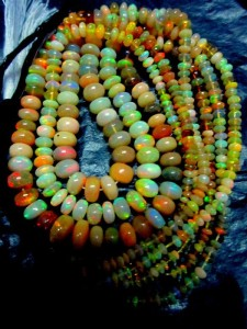Ethiopian Opal Beads, vendor image