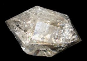 Herkimer Diamond with lots of internal fracturing
