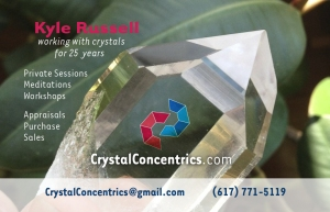 Crystal Concentrics business card