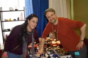 AnGee Lewis and Kyle Russell, on opposite sides of 'the table'