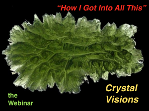 Crystal Visions webinar