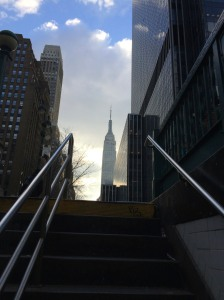 Empire State, from the subway